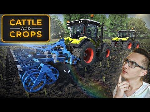 Cattle and Crops ☆ Nowa Gra Rolnicza i Pierwsze Wrażenia ㋡ MafiaSolec