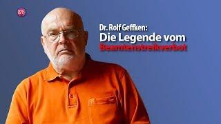 Rolf Geffken: Die Legende vom Beamtenstreikverbot