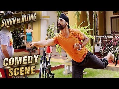 Download Akshay Kumar Best Funny Scene | Comedy Scene | Singh Is Bliing | Lara Dutta, Amy Jackson | HD