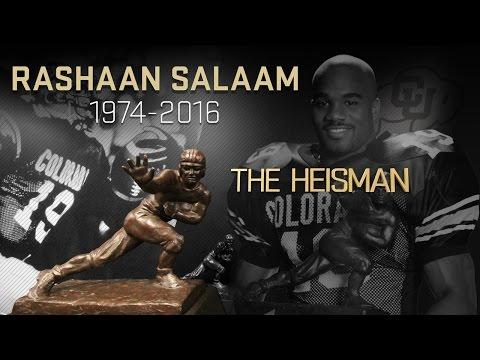 Remembering Colorado legend, 1994 Heisman winner Rashaan Salaam