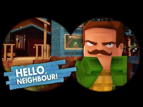 Minecraft - HELLO NEIGHBOUR IS TINYTURTLE?!