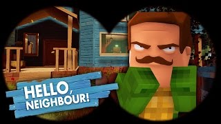 Minecraft - HELLO NEIGHBOUR IS TINYTURTLE?!