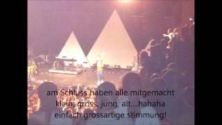 DANIELE NEGRONI Zürich 27.11.2012 - AUDIO Konzertende mit 'absolutely right' / 'oh jonny'