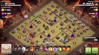 Queen-Walk GoVaHo vs Extreme TH9.5   Clash of Clans