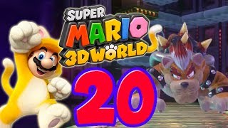 Let's Play Super Mario 3D World Part 20: Final Bowser Boss Fight (Meowser)