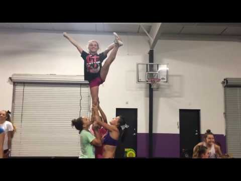 Rockstar Cheer Naples Florida. Level 3 switch up to stretch