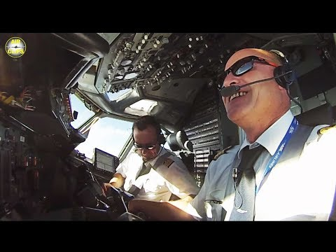 B737-400SF DREAM TEAM Fabien & Nicolas: ULTIMATE COCKPIT MOVIE [AirClips full flight series]