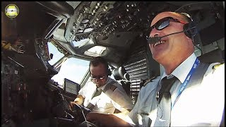 B737-400SF DREAM TEAM Fabien & Nicolas: ULTIMATE COCKPIT MOVIE [AirClips full flight series]