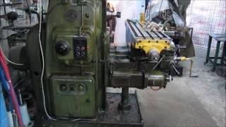 видео Фрезерные работы по металлу