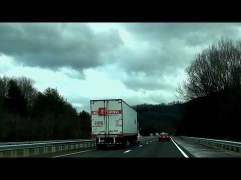 I 40 East Across the Mountains to Asheville NC