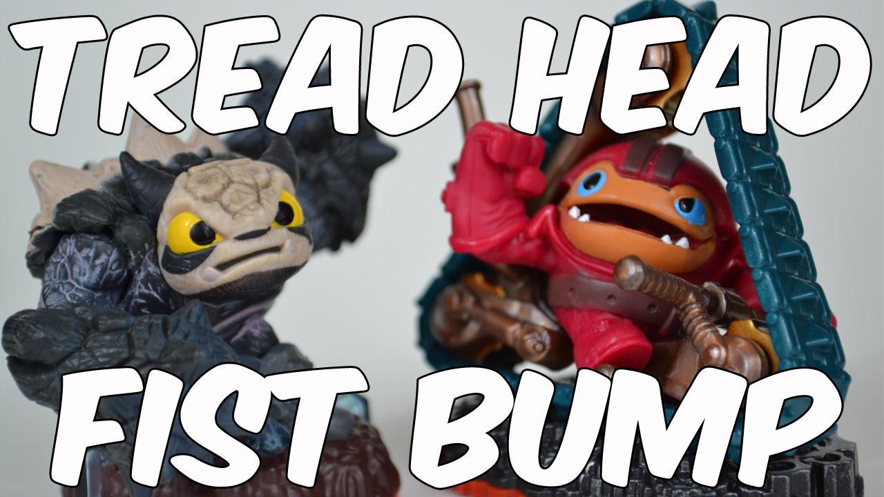 Skylanders Trap Team: Tread Head and Fist Bump Unboxing ...