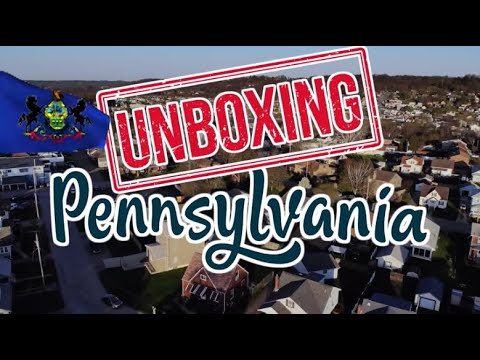 Unboxing PENNSYLVANIA. What's GOOD and BAD About Living in PENNSYLVANIA?