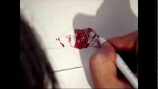 Как рисовать губы, поцелуй отпечаток  How to draw lips, kiss(Рисую губы, отпечаток губной помады. Посещайте нас везде: Наш сайт - http://serpstream.ru Группа VK - http://vk.com/public43263126..., 2012-10-02T16:32:24.000Z)