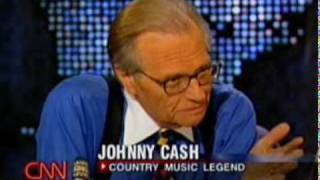 Larry King Live with Johnny Cash (2002) part 3