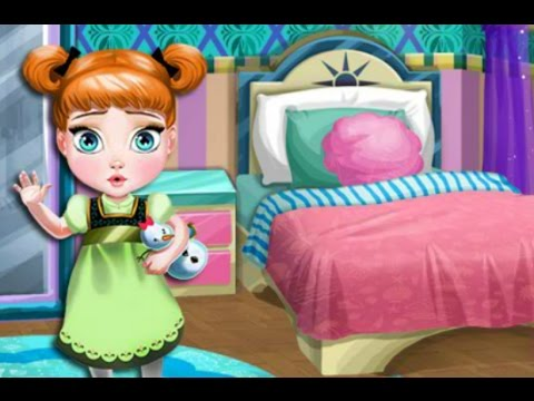 Baby games online for kids baby anna room decoration for Baby bedroom decoration games
