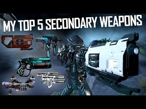 Best Secondary In Warframe 2019 Warframe] KSILISAB'S TOP 5 SECONDARY WEAPONS   YouTube