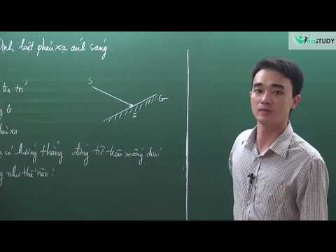 [Vật lý lớp 7] - Định luật phản xạ ánh sáng