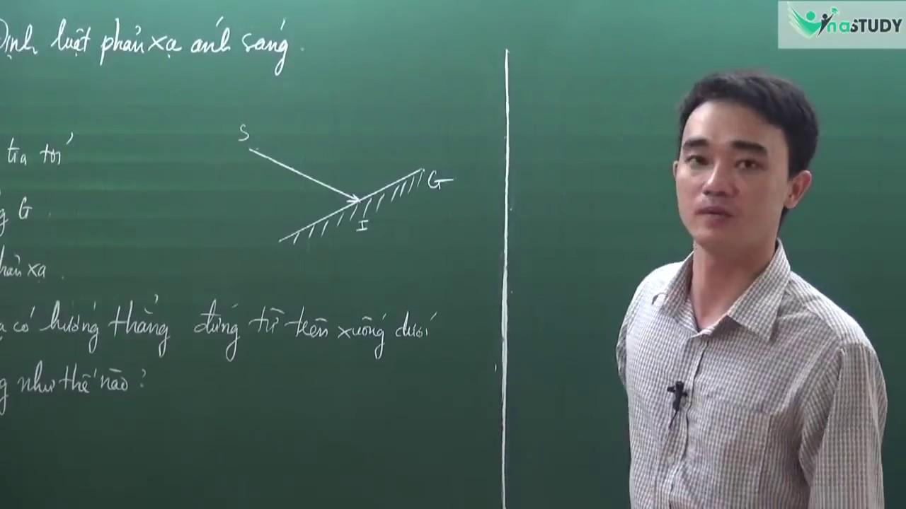 [Vật lý lớp 7] – Định luật phản xạ ánh sáng