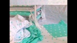 Бортики в кроватку, постельное белье BooBoosik(, 2016-04-02T14:40:15.000Z)