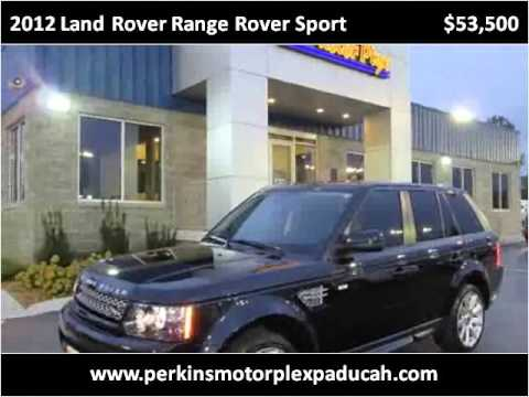 2012 Land Rover Range Rover Sport Used Cars Paducah Ky