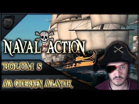 Naval Action Türkçe | #5 - AVA GİDERKEN AVLANDIK