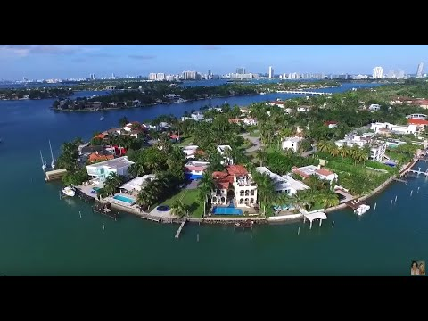 HIBISCUS ISLAND WATERFRONT LUXURY HOUSES FOR SALE    305-523-9323