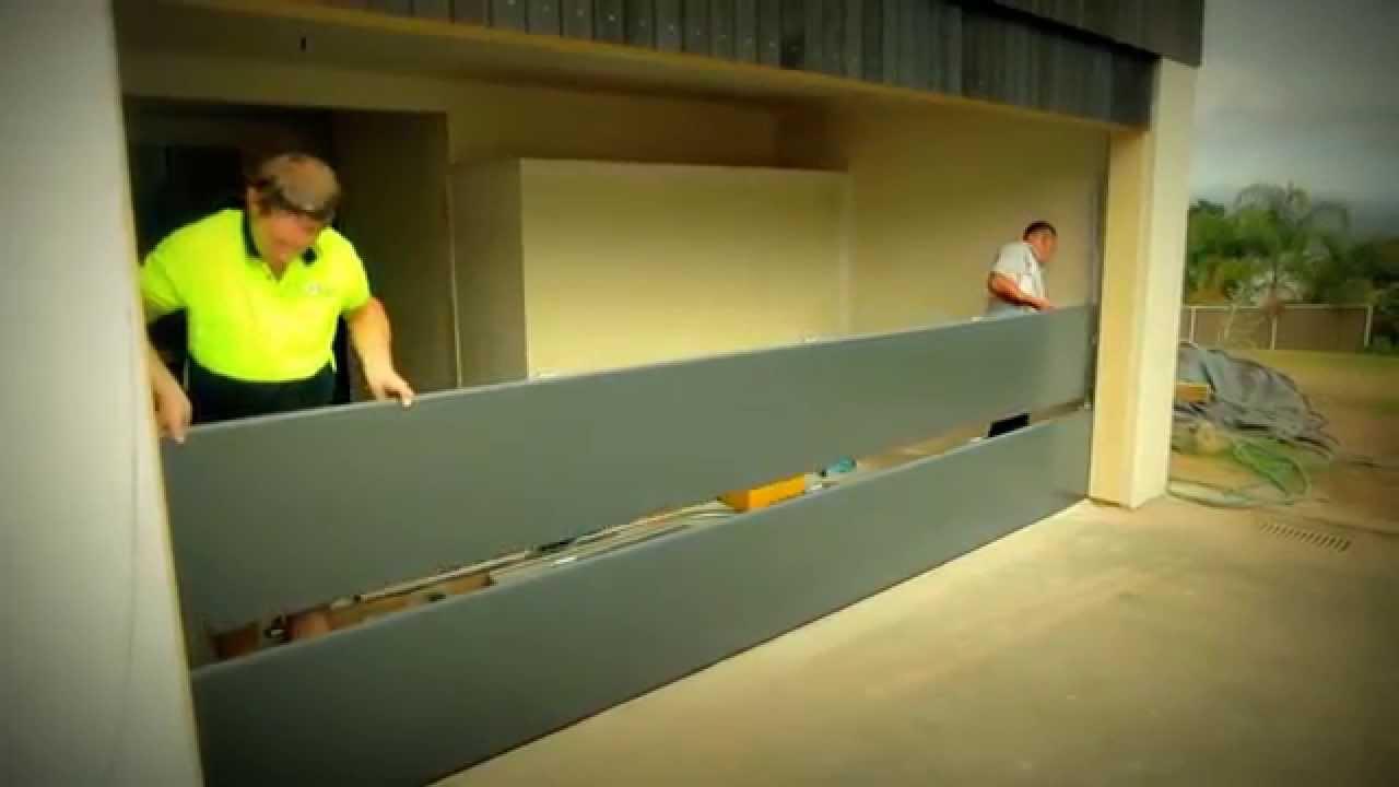 Garador Insulated Sectional Garage Door Youtube