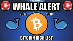 Whale Alert: Three Whales Making Moves in 2018! [Bitcoin Rich List]