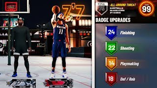 nba 2k20 but with a 7'7 guard build..