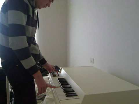 Mellotron - OMD, Maid of Orleans and Beatles, Strawberry fields intro