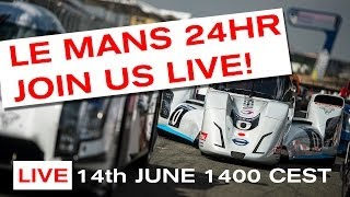 Join us LIVE from Le Mans - 14th June 2014 - LIVE ON NISMO.TV