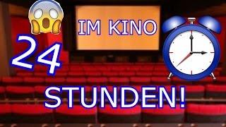 24 STUNDEN - NACHTS IM KINO EINSPERREN !!! ⏰😂 (GEFANGEN)