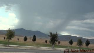 Hemet, California Thunderstorms 8-11-12