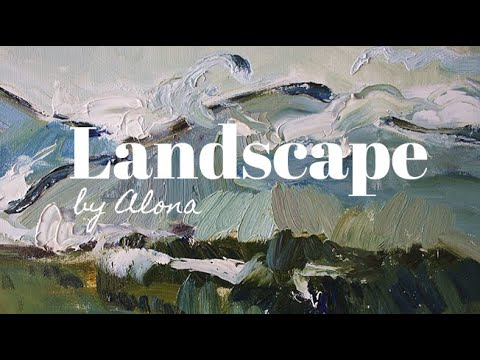 CARPATHIANS || LANDSCAPE || OIL PAINTING DEMONSTRATION