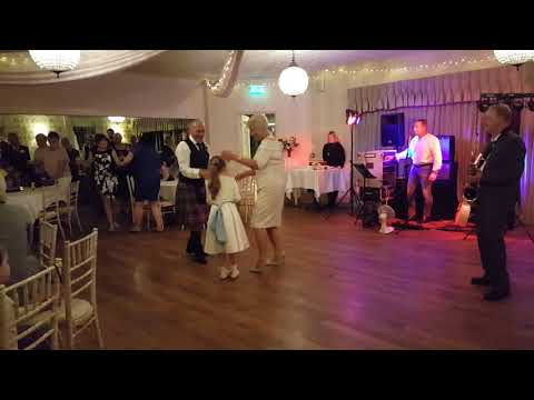 FIRST DANCE - JANET & JOHN SLINGER'S WEDDING OCTOBER 2018
