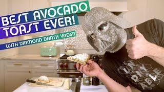 The BEST (and easiest) Avocado Toast in the entire GALAXY! With DDV