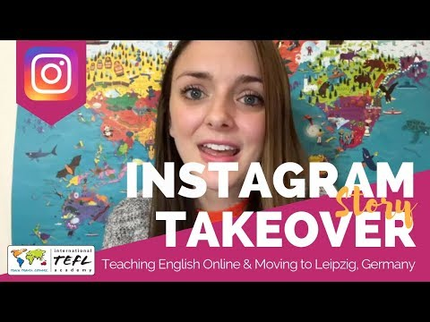 Teaching English Online & Moving to Leipzig, Germany - TEFL Social Takeover with Holli Edwards