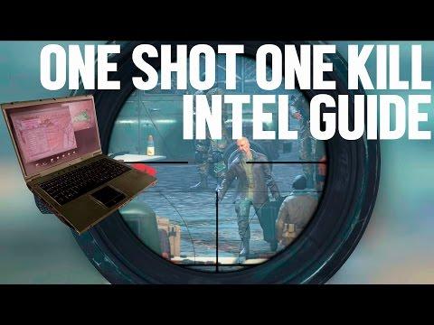 "MWR ""One Shot, One Kill"" Intel Location Guide // Modern Warfare Remastered Campaign Intel 22-23"