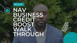 Nav Business boost walkthrough