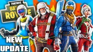 *NEW UPDATE* FORTNITE 1.11 CHRISTMAS PATCH NOTES! NEW SKINS, NEW BUSHES, NEW GRENADE LAUNCHER!