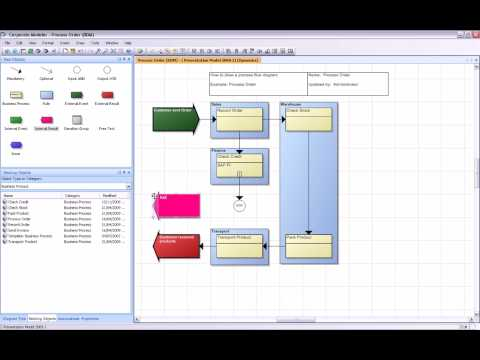 how to draw a process flow diagram youtube Process Flow Diagram Template Word