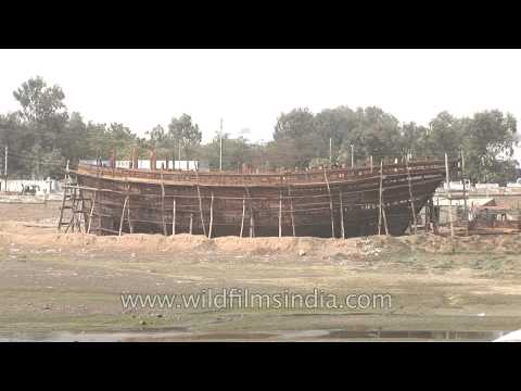 Shipbuilding in Gujarat - India