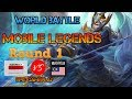 Mobile Legends | Indonesia vs Malaysia | Round 1 | World Tournament | GaminG WitH RoY