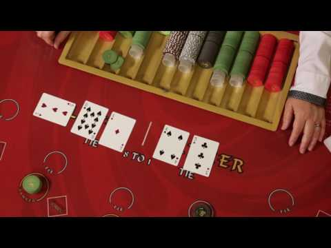 How To Play - Baccarat