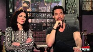 Janet Montgomery & Shane West of WGN's Salem [Set Interview]