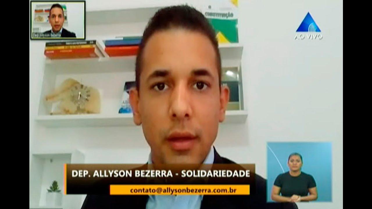 Deputado Estadual Allyson Bezerra - Página Inicial