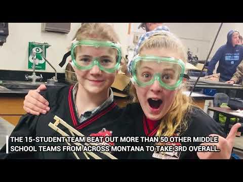 Clancy School Science Olympiad team praised for performance
