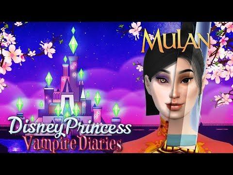 MULAN! | Sims 4 Disney Princess Vampire Diaries Ep 16