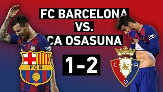 Barcelona's 2-1 loss to osasuna didn't affect the title race, but it still showed frailties of catalan side. real madrid captured la liga title, ...