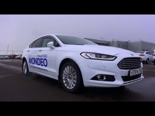 2015 Ford Mondeo Titanium. Обзор (интерьер, экстерьер, двигатель).